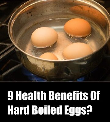 Hard Boiled Eggs health benefits